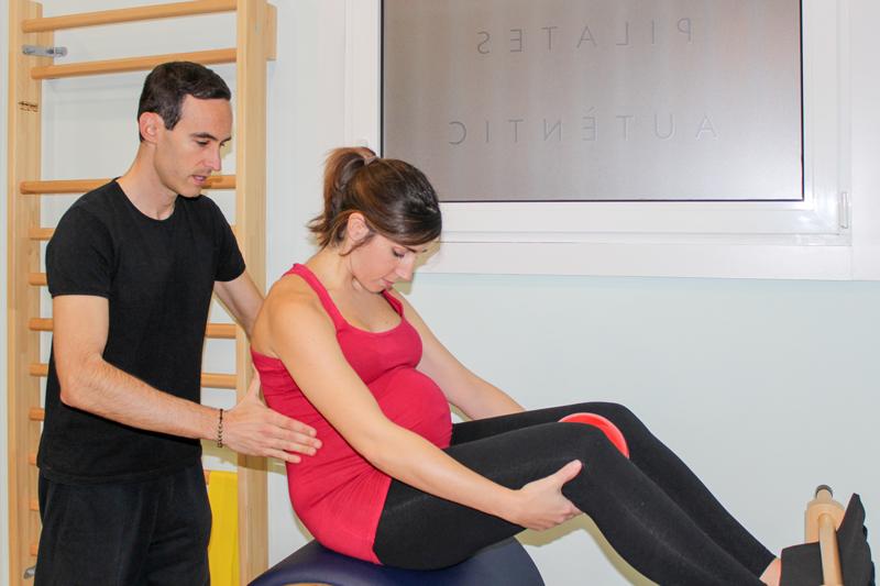 Pilates para el embarazo 1